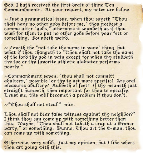 Ten Commandments Explanation